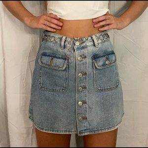 Lightly Worn - Pacsun Jean Skirt